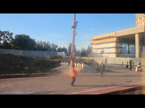 Прибытие на станцию Ульяновск-Центральный