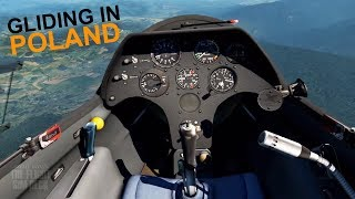 X-Plane 11 + Oculus Rift | Gliding in Poland | ASK 21