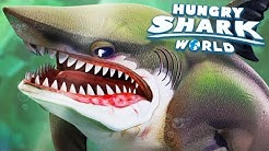 MEGALODON NOVO TUBARÃO! - Hungry Shark World #34 (HSW) - MEGALODONTE!
