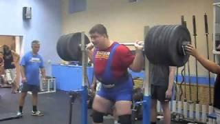 Dmitriy Ivanov - IPF squat - 420 kg (926 lbs)