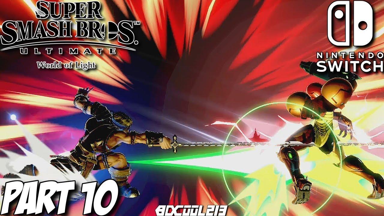 Super Smash Bros. Ultimate World of Light Gameplay Walkthrough Part 10 - Nintendo Switch Lets Play