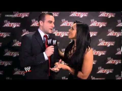 AKSANA TRIES TO GET INFORMATION ABOUT KAITLYN FROM TONY DAWSON: WWE APP EXCLUSIVE