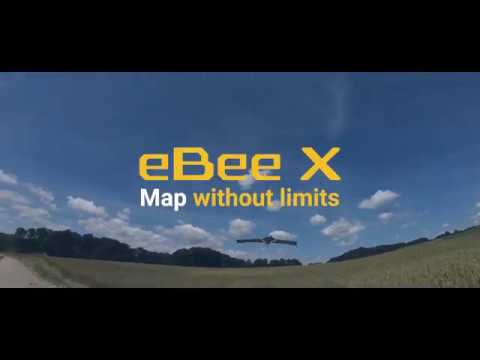 eBee X Fixed-Wing Drone - Map Without Limits