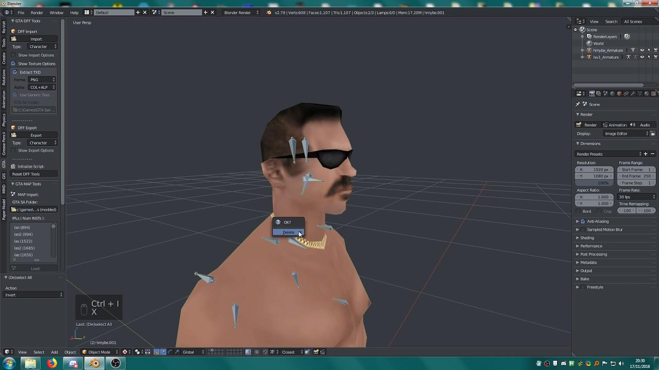 SA Headswapping [Blender]