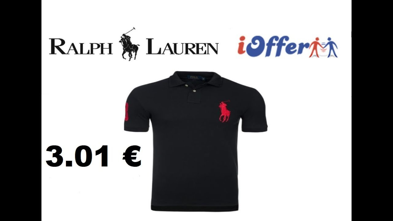 UNBOXING IOFFER POLO RALPH LAUREN 3.01 € PAS CHER ! - YouTube ff31e8a132a