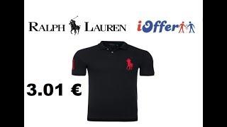 UNBOXING IOFFER POLO RALPH LAUREN 3.01 € PAS CHER !
