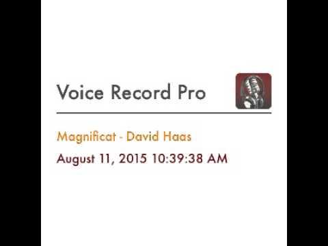 Magnificat - David Haas (Piano Cover)