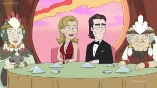 Rick and Morty - Battlestar Galactica