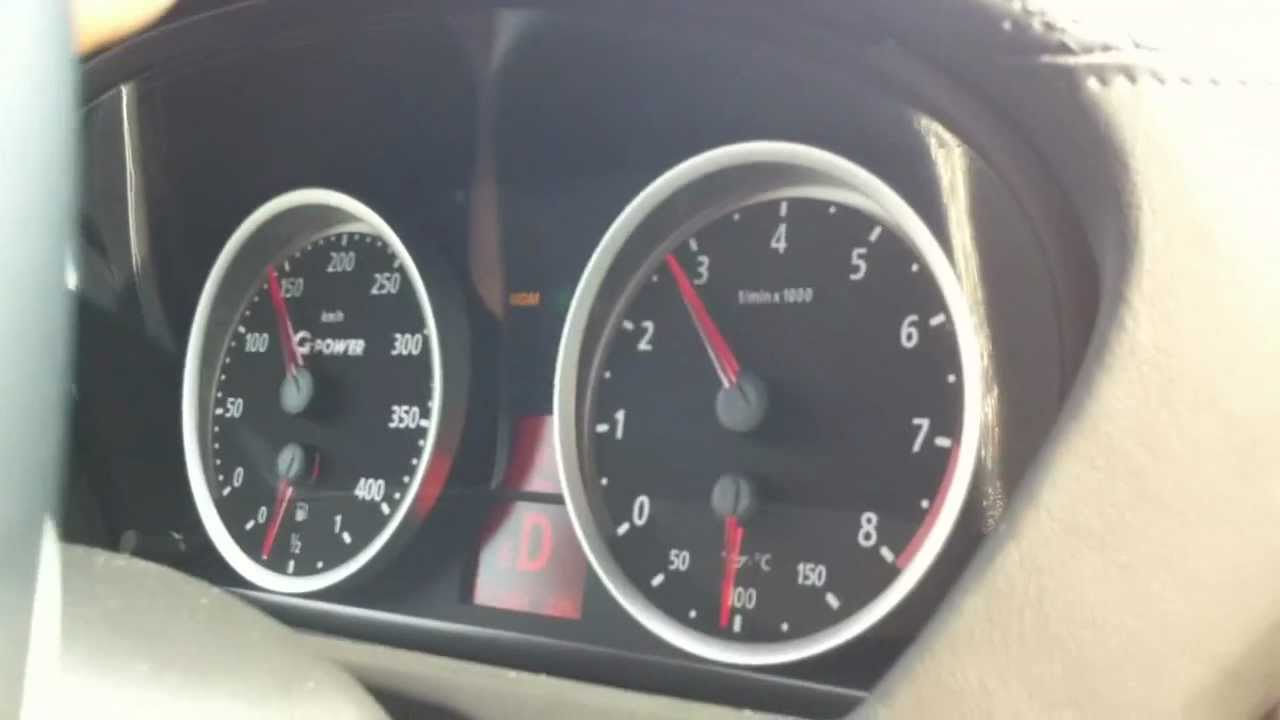 Bmw X6 M G Power 725hp Going 300kph