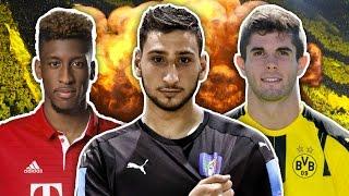 Future Superstars XI   Dembele, Pulisic & Donnarumma!