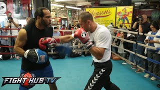 Bernard Hopkins vs. Sergey Kovalev- Kovalev full media workout