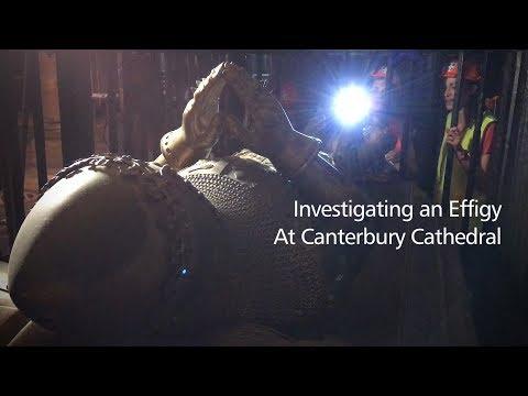 Investigating the Black Prince's Tomb