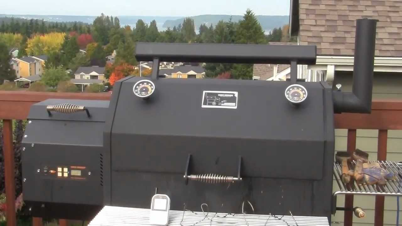 SmokingPit.com - Yoder YS640 Pellet Smoker High Temp Test Firmware U18 ...