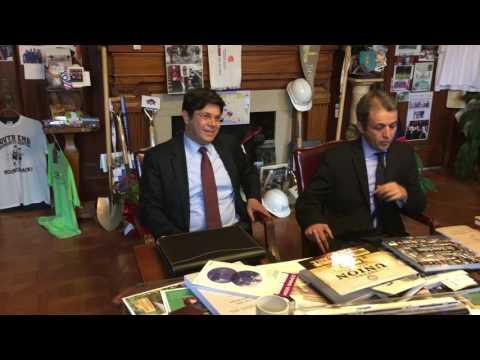 Turkish Consul General Ömür Budak pays visit to Springfield Mayor Domenic Sarno (photos, video)