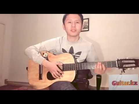 Гитара үйрену 1 сабақ ,аккордтармен танысу, қағыс үйрену, және гитарада алғашқы әнімізді үйренеміз