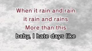 Mika - Rain (Karaoke and Lyrics Version)