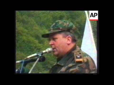 FILE Former top Bosnia general says he will surrender to Hague tribunal