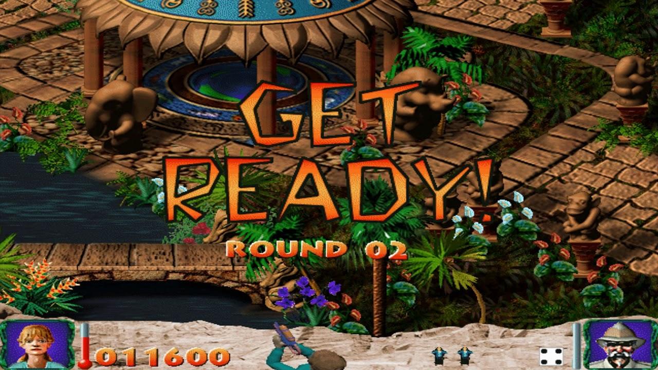Jumanji Jungle Adventure Game Pack Wild Hunter 1997 Winxp Youtube