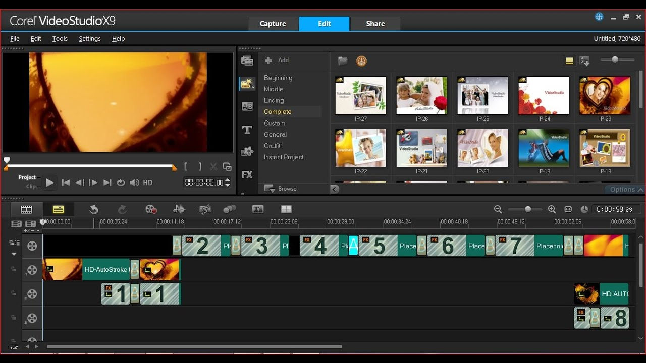 Corel Videostudio X9 Tutorial Corel Videostudio X9 Instant Project