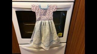 HANGING DISH TOWEL l  HAND TOWEL  TUTORIAL