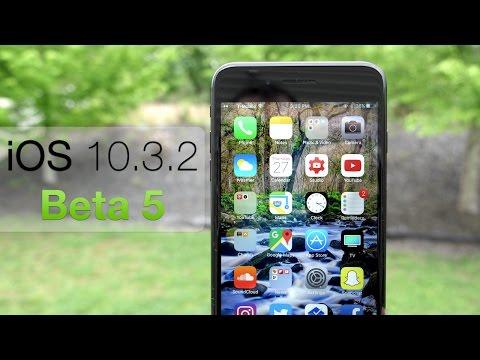 iOS 10.3.2 Beta 5 - What