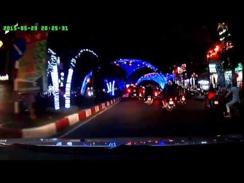 TP.Bạc Liêu - Đường phố về tối