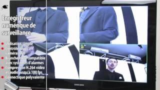 ENREGISTREUR NUMÉRIQUE DE SURVEILLANCE ''DVR-6004 PRO/H.264''