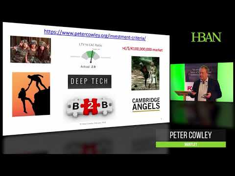 Peter Cowley Key Note at the HBAN All-Island Business Angel Conference 2018