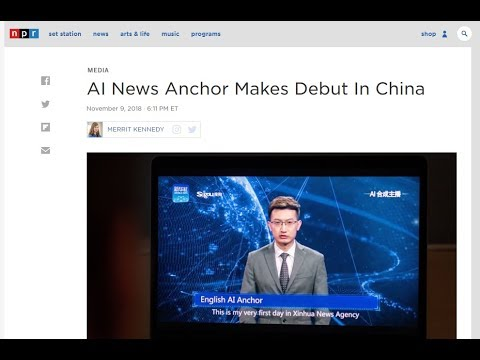 World's First A.I. News Anchor Will Change TV As We Know It!