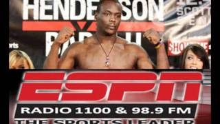 ESPN1100 speaks with OVINCE ST. PREUX before STRIKEFORCE CHALLENGERS 17