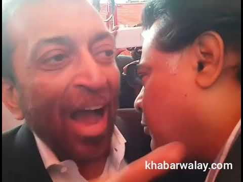 Faisal Subzwari gets emotional upon meeting with Farooq Sattar (chairman MQM)