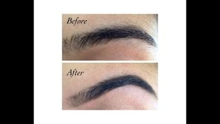 How to shape and tweeze your eyebrows yourself!
