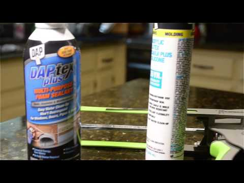 Summer Energy Saving Tips - Caulking and Weather-Stripping