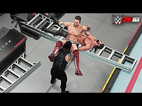 WWE 2K18 Top 10 Double Knockouts by a Single Move! Part 2