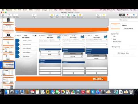 XANGO AMP App Corporate Training