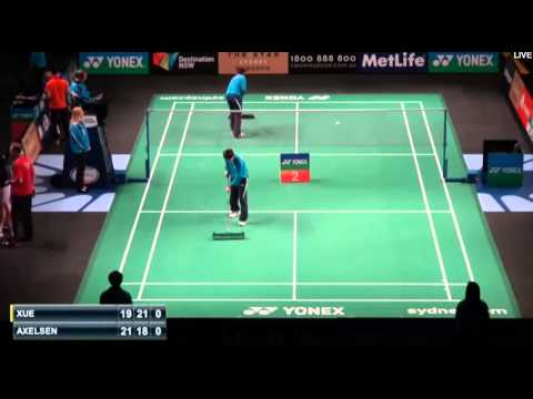 Badminton Viktor Axelsen vs Xue Song | Badminton 2015 New