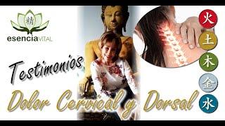 Testimonios - Dolores de cervicales y dorsales