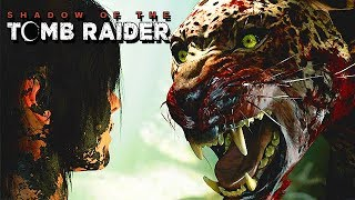 Shadow of the Tomb Raider Gameplay German - Jaguar Boss Fight