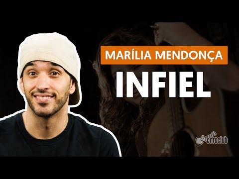 Infiel - Marília Mendonça (aula de violão simplificada)