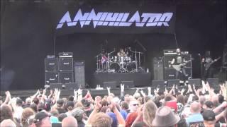 Annihilator - Smear Campaign & King Of The Kill Live @ Sweden Rock Festival 2014
