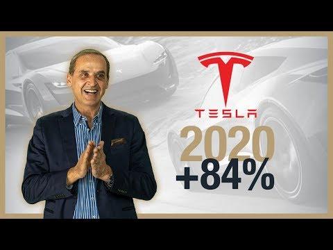Tesla Aktie +84% Zuwachs in 2020 - Bedeutung für die Deutsche Industrie