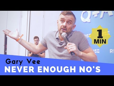 Never Enough No's for Entrepreneurs | Gary Vaynerchuk | Inspirational