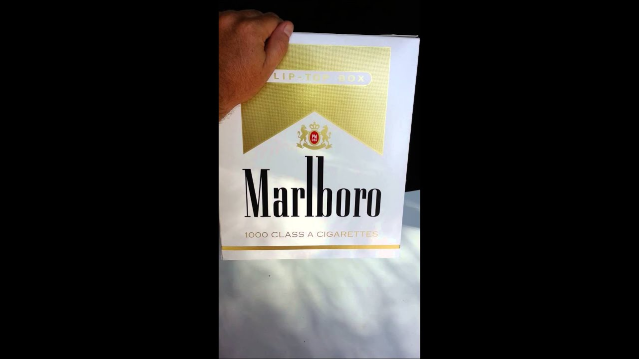 Filters for cigarettes Marlboro