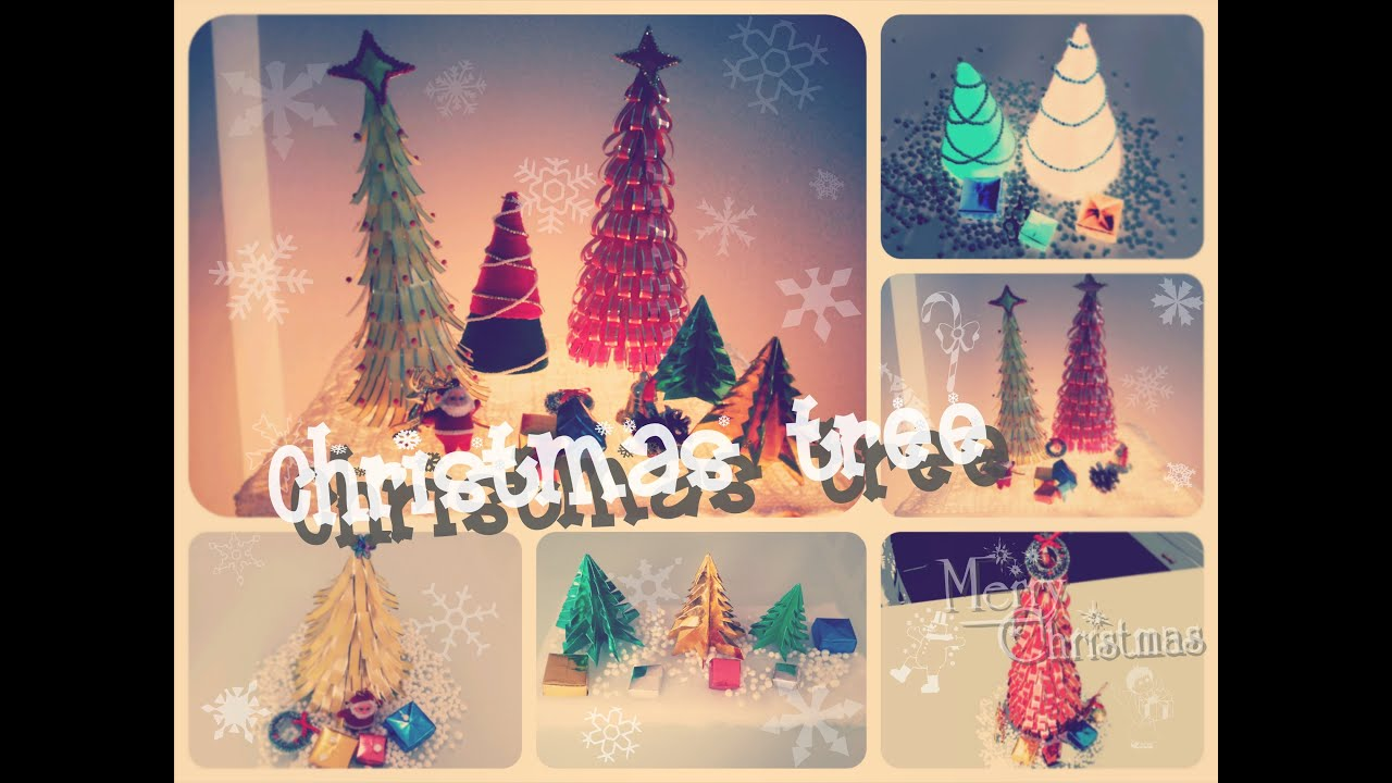 DIY: Christmas Tree From Magazine / Origami