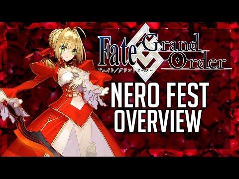 Fate Grand Order Nero Festival Event Overview