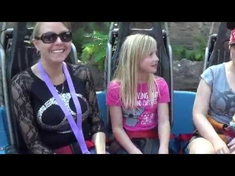 Vlog: Disneyland Grizzly River Run Rapids