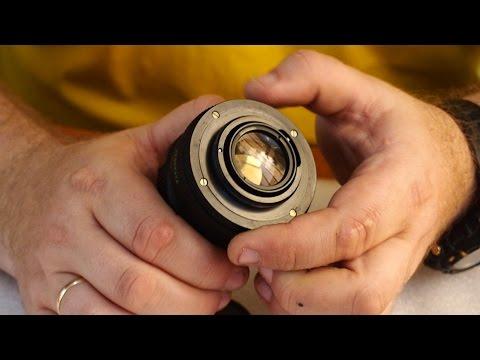 Объективы Гелиос-44м-4 и Гелиос 44-2 с переходниками объективов Nikon