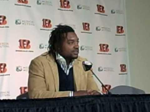 Cedric Benson press conference 1