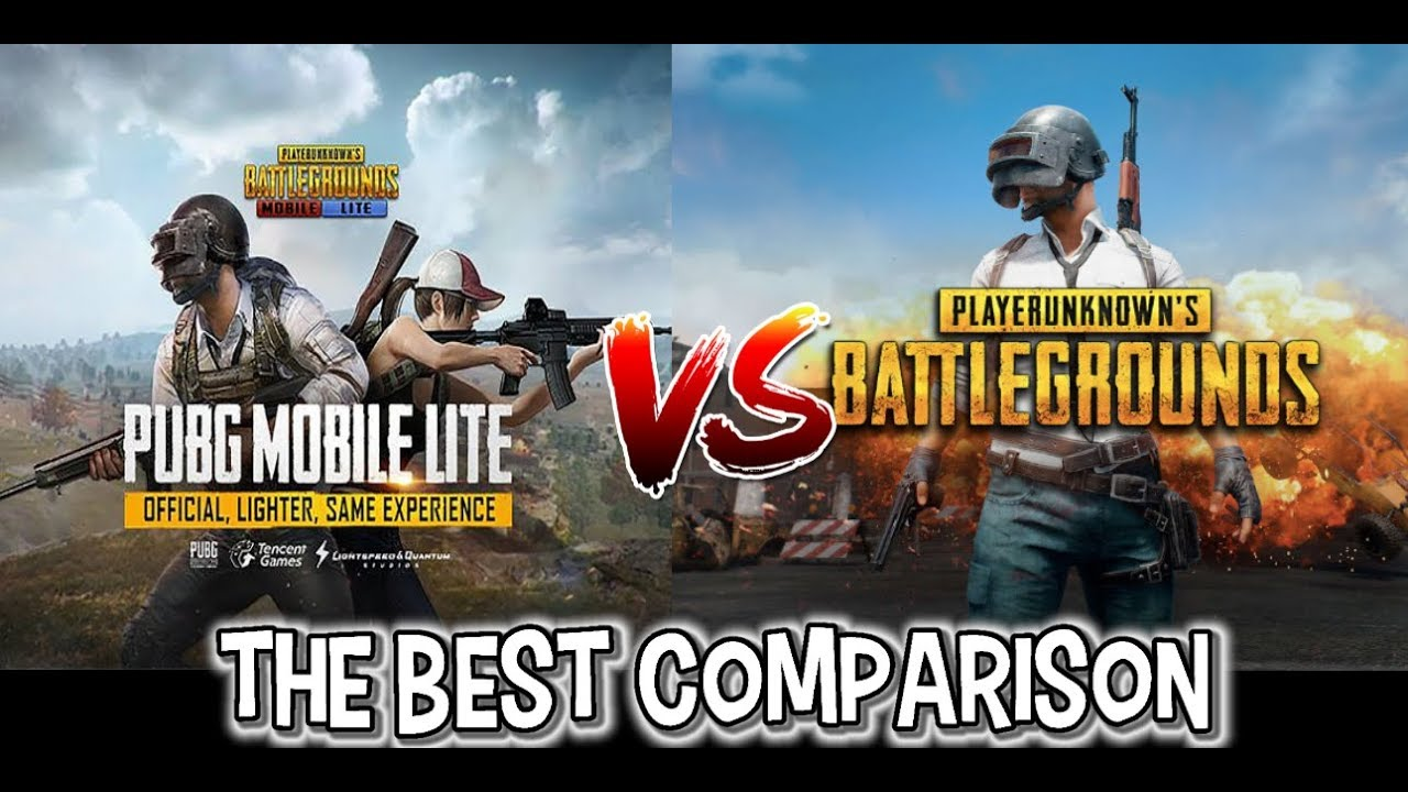 Pubg Mobile Lite Indirmeye Hazır: WhiCh One IS Better - YouTube