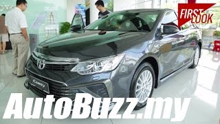 2015 Toyota Camry 2.5 Hybrid and 2.0G First Look - AutoBuzz.my